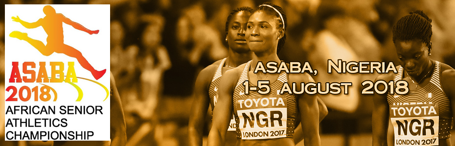 21st African Senior Championships in Athletics - Asaba 2018