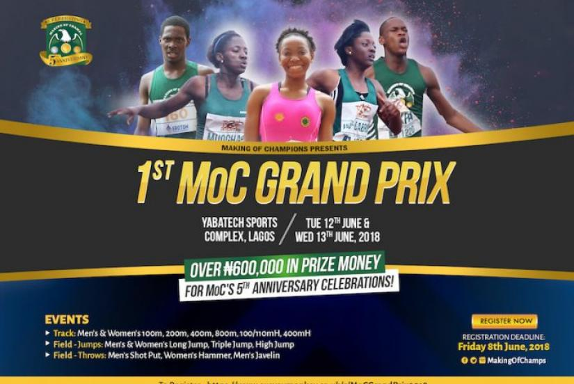 Inaugural Making of Champions (MoC) Grand Prix and Relays