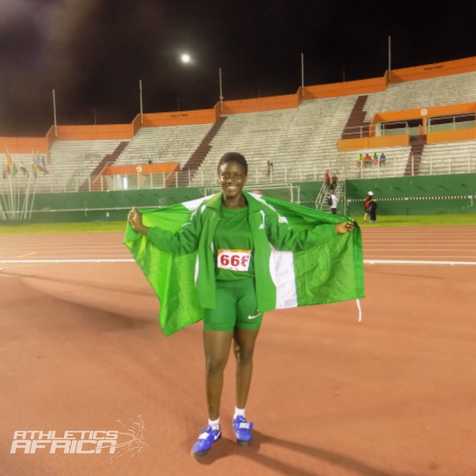 Team Nigeria athlete