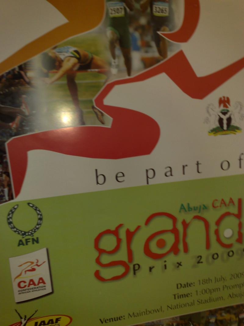 Foreign athletes arrive in Abuja for Abuja Super Grand Prix