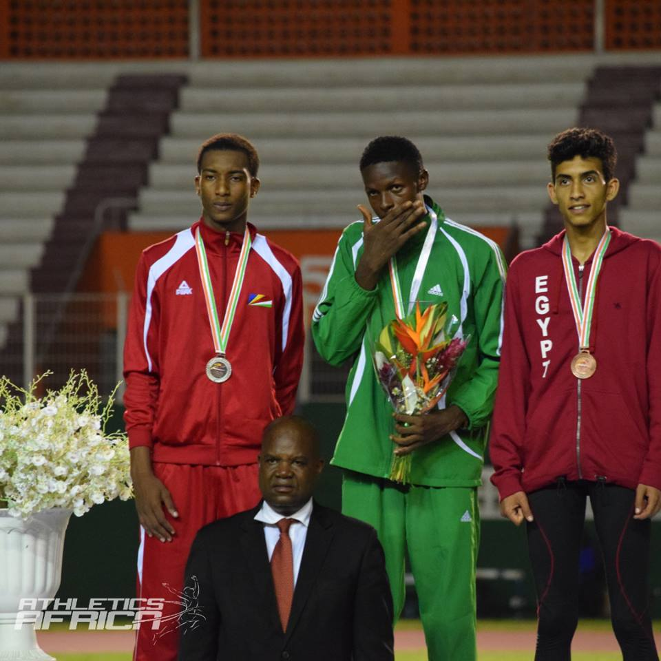 Team Nigeria wins Five Medals on Day 3 of African U20 & U18 Championships